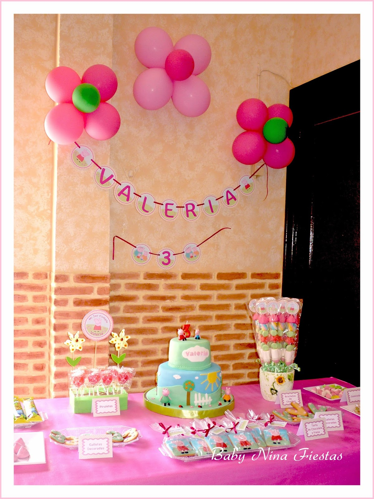 Minnie mouse decoracion de mesa para fiestas for Mesas decoradas para fiestas