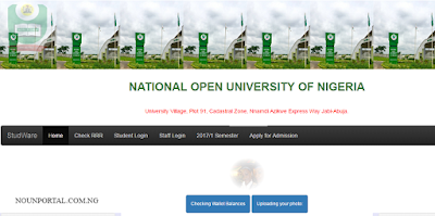 nouonline.net: How to Register & Login to NOUN Student Portal