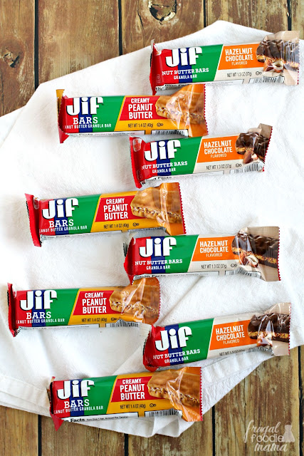 With delicious flavors like Creamy Peanut Butter, Hazelnut Chocolate, & Chocolate, you are sure to find a Jif Bar that every member of the family will love.