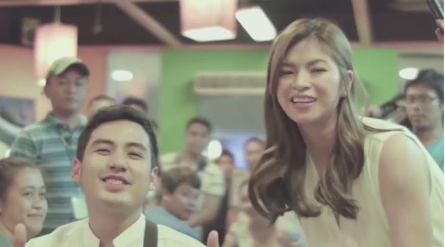 Throwback: Angel Locsin Surprised The Customers Of Mang Inasal For #HaloHaloveYah