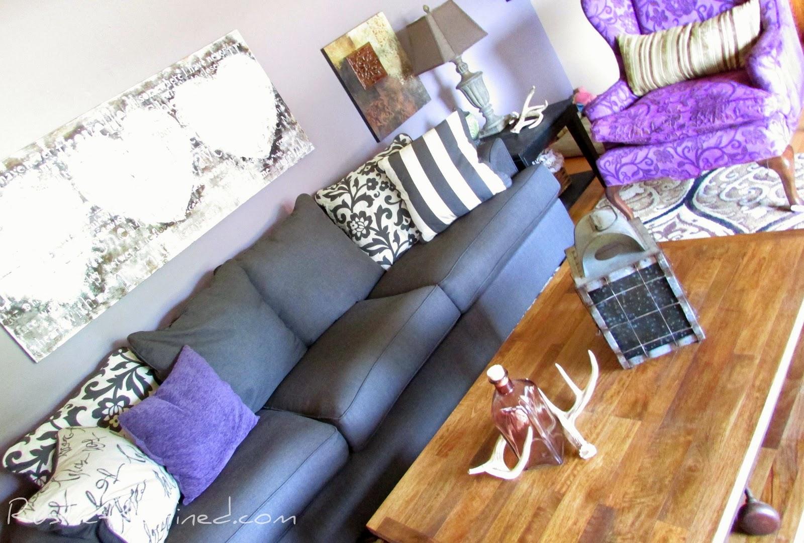 Summer Living Room Tour @ Rustic-refined.com