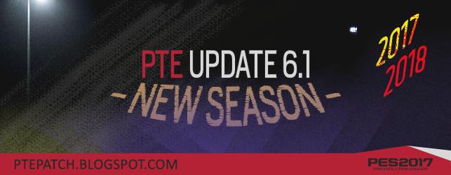 Download PES 2017 PTE Patch 6.1 - FINAL - HAY - MODDER