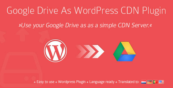 Free Download CodeCanyon Google Drive V1.10.9 As WordPress CDN Plugin