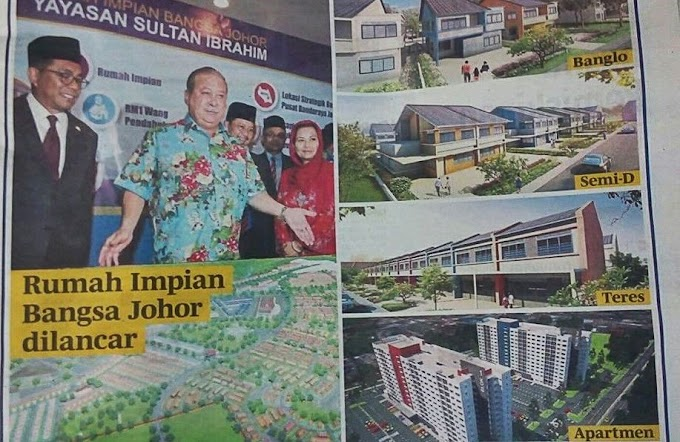 Jom Daftar Rumah Impian Bangsa Johor