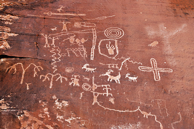 Petroglyph Canyon, Valley of Fire em Las Vegas
