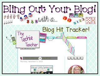 Bling out your class blog/website with a STYLISH hit counter. Have students check in on the hit counter for place value work!