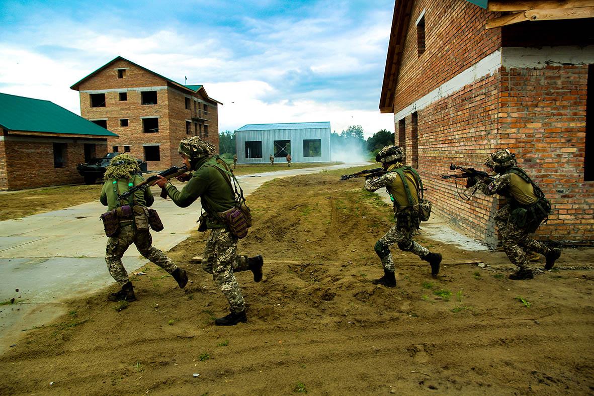 яворівський навчальний комплекс бій в урбанізованій місцевості