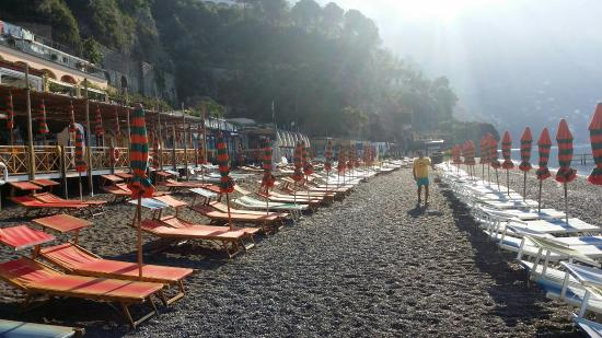 Praias na cidade Nápoles