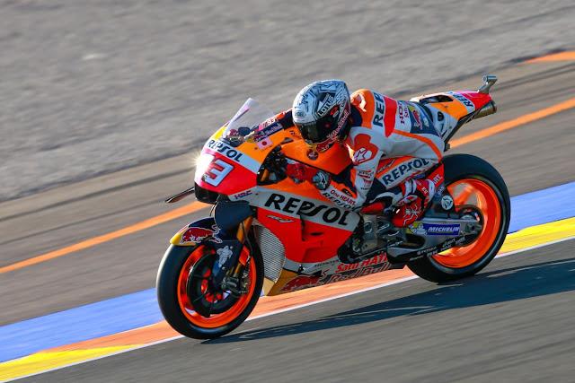 Hasil latihan bebas 3 MotoGP Valencia, Spanyol : Marquez tercepat