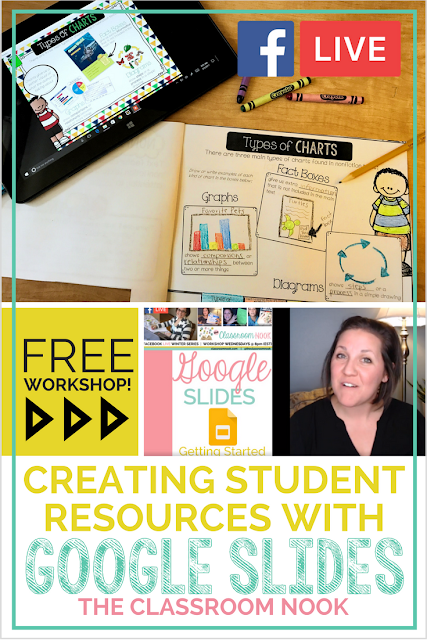 In this free workshop learn how to use google slides to create student resources