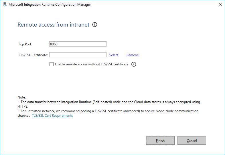 Installing Microsoft Azure Integration Runtime - Microsoft