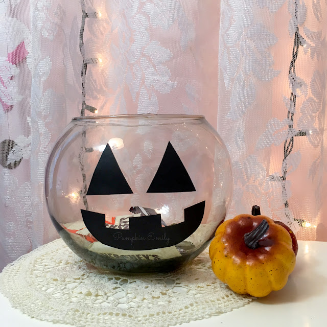 DIY Pumpkin Candy Bowl