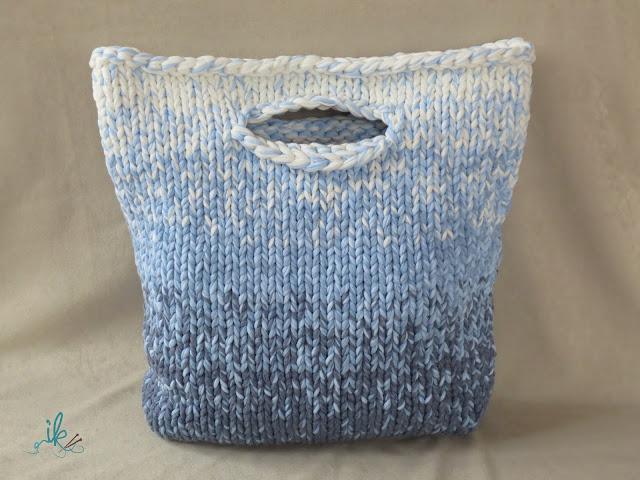 Tasche stricken mit Farbverlauf