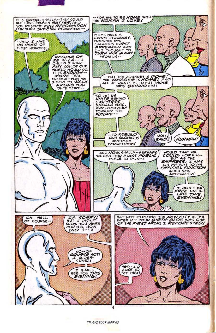 Read online Silver Surfer (1987) comic -  Issue #2 - 10