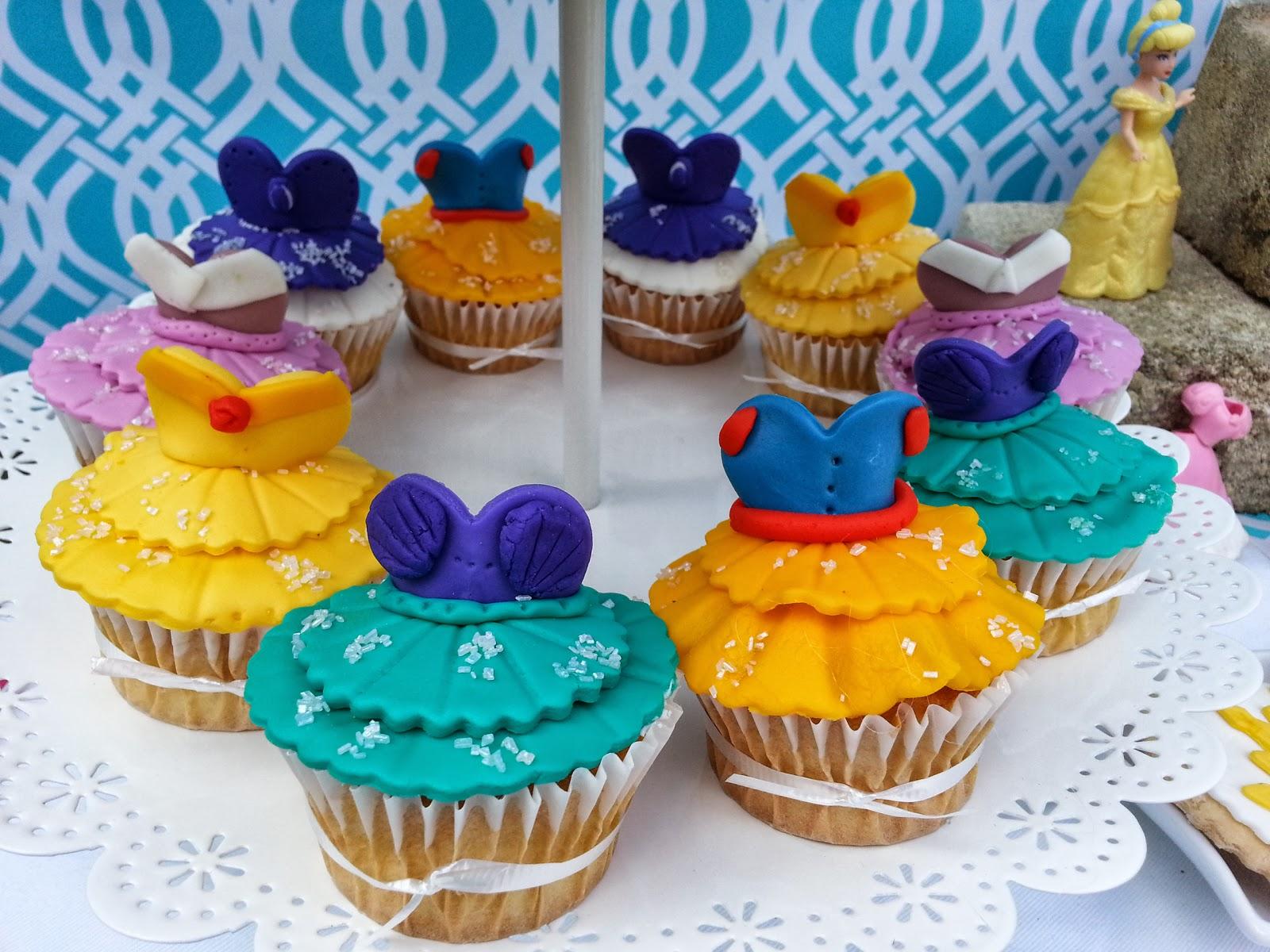 Nana's Theme Party: Disney Princess Dessert Table