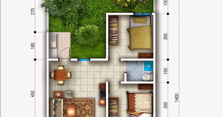 Rumah Type 21/60 1 Lantai - Bukalah x