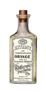 baking food illustration antique image bottle extract download