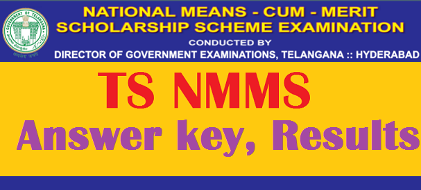 TS NTSE NMMS Exam Answer Key 2017 Download