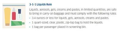 3-1-1 Liquids rule