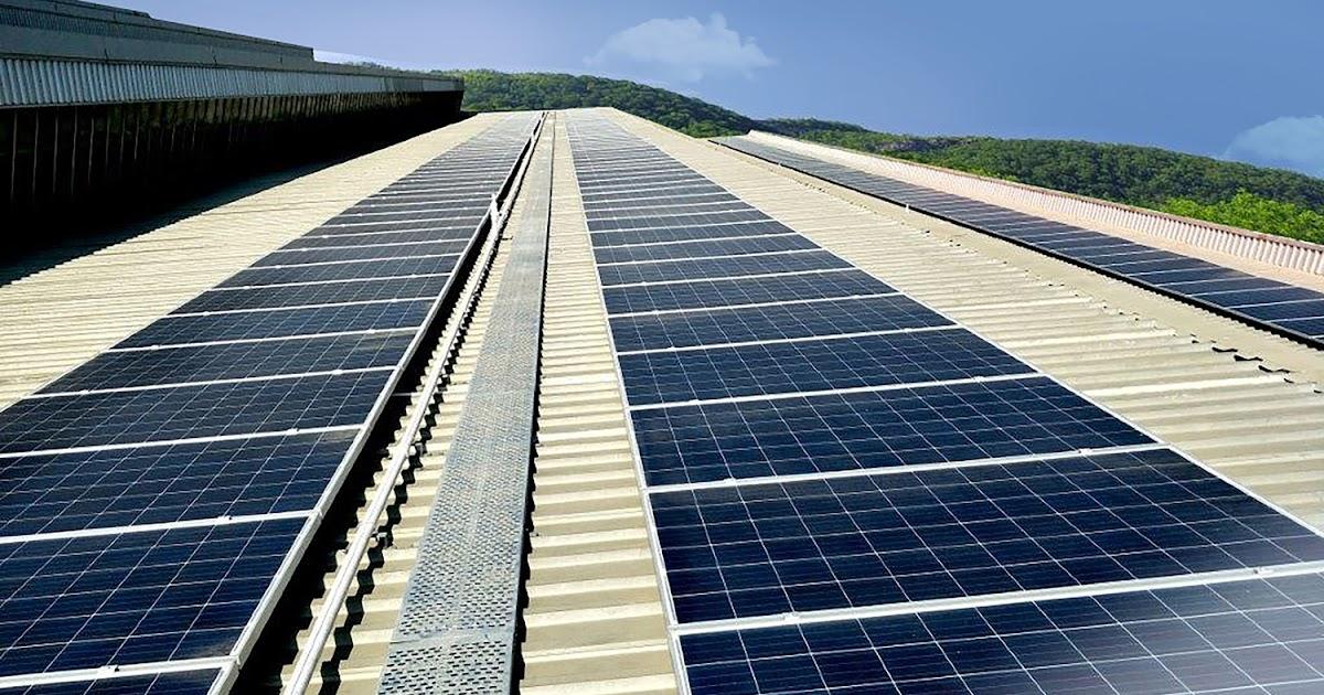 Solar Boost To Atlas Copco S Pune Compressor Unit Www