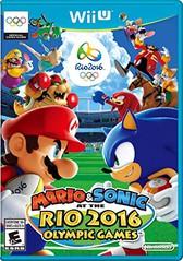 Mario Sonic Rio 2016 Wii U