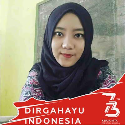 Bingkai foto profil facebook 73 Tahun Kemerdekaan Indonesia