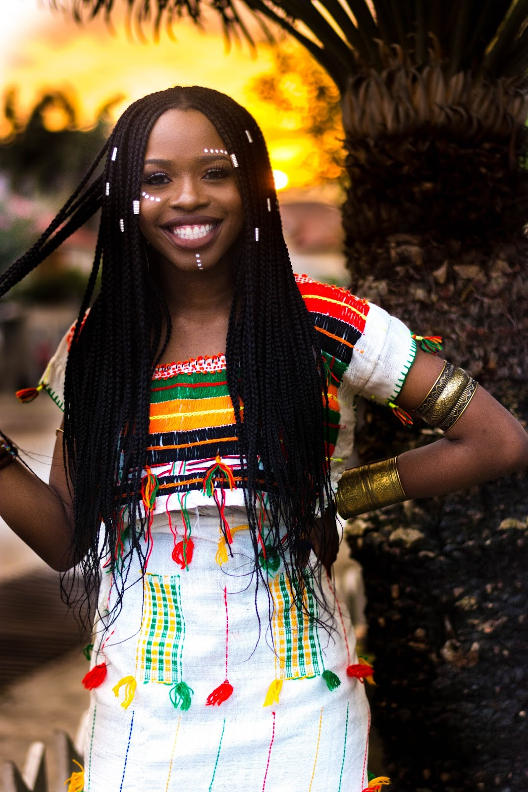 Fulani Woman in traditional attire