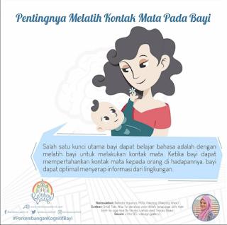 Manfaat Melatih Kontak Mata Terhadap Kemampuan Bahasa Bayi