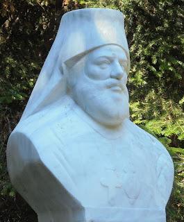 προτομή του Φώτιου Καλπίδη στο Μουσείο Μακεδονικού Αγώνα του Μπούρινου