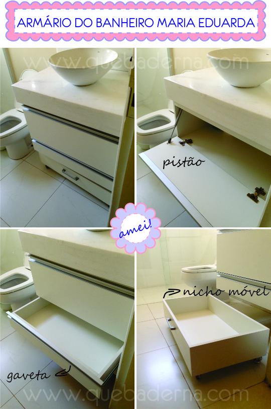 Armário do banheiro da Maria Eduarda -> Altura Do Armario De Banheiro