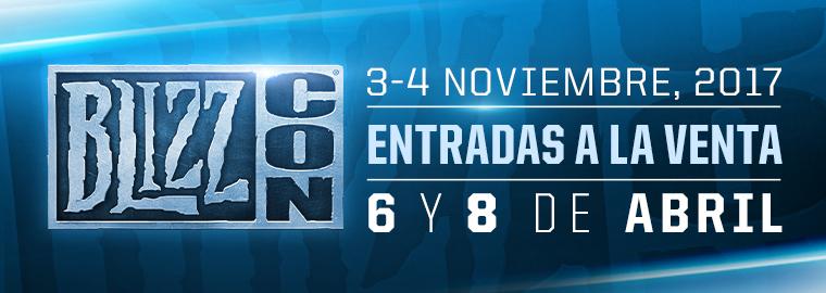 Se anuncia la Blizzcon 2017, ¡3 y 4 de noviembre!