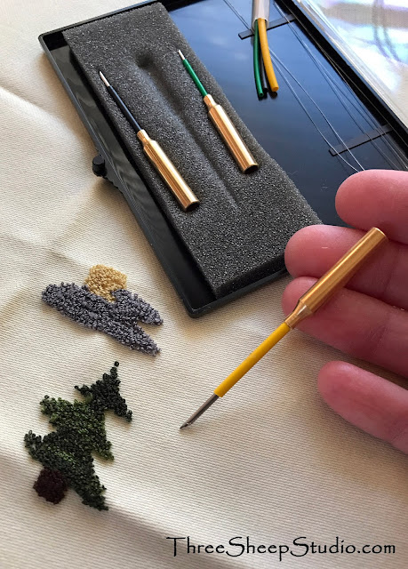 Lets Talk Punch Needles - ThreeSheepStudio.com