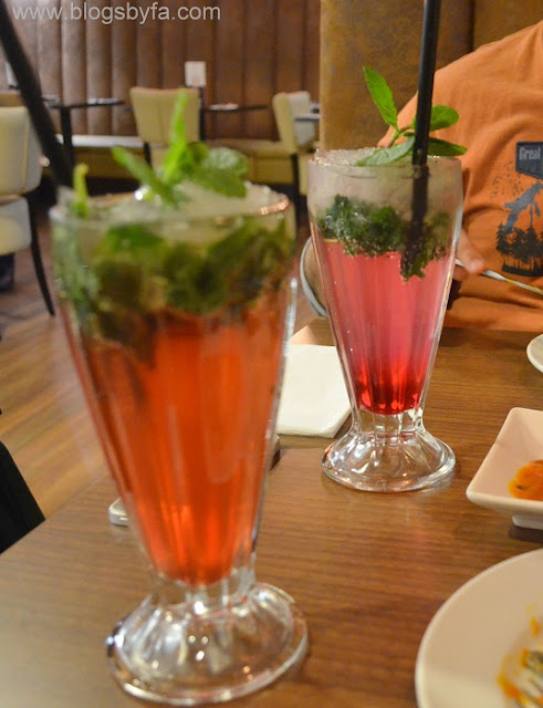 Madina Grill Halal London via Halal Eat - mocktails