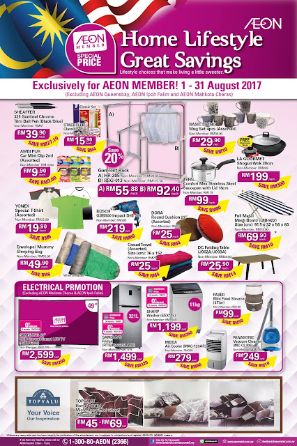 AEON Member Special Price Home Lifestyle Great Savings