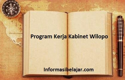 Program Kerja Kabinet Wilopo