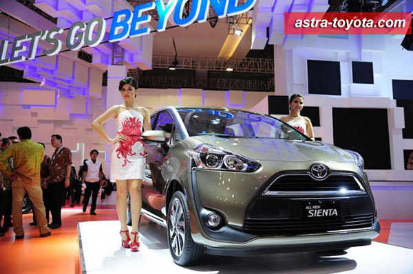 Toyota All New Sienta IIMS 2016