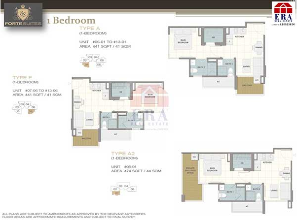 Forte Suites Floor Plan