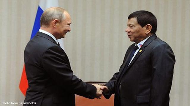 2sXrITT Duterte to FVR: Russia trip not a junket, we got about P9 billion