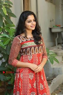 Telugu Actress Nikhila Vimal Latest Stills in Anarkali Dress  0155.JPG