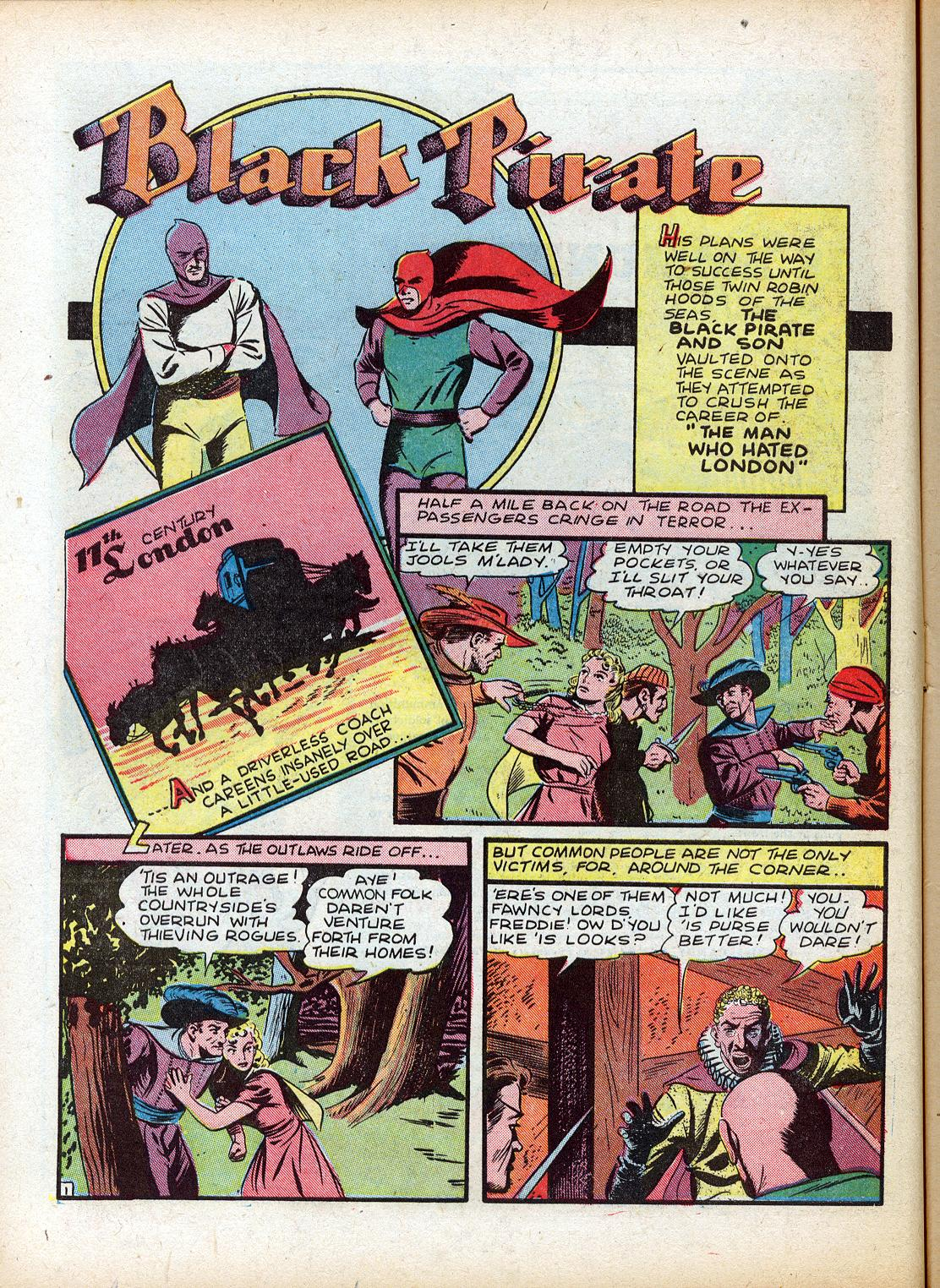 Read online Sensation (Mystery) Comics comic -  Issue #18 - 18