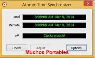 Atomic Time Synchronizer  Portable