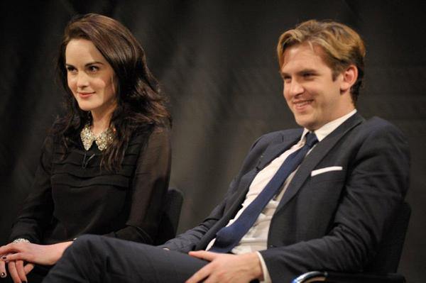 Downton Abbey star Dan Stevens on why wife Susie Hariet is ...  Michelle Dockery And Dan Stevens Married