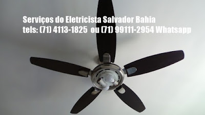 Ventilador de teto com baixa rotação consertamos em Salvador-71-99111-2954