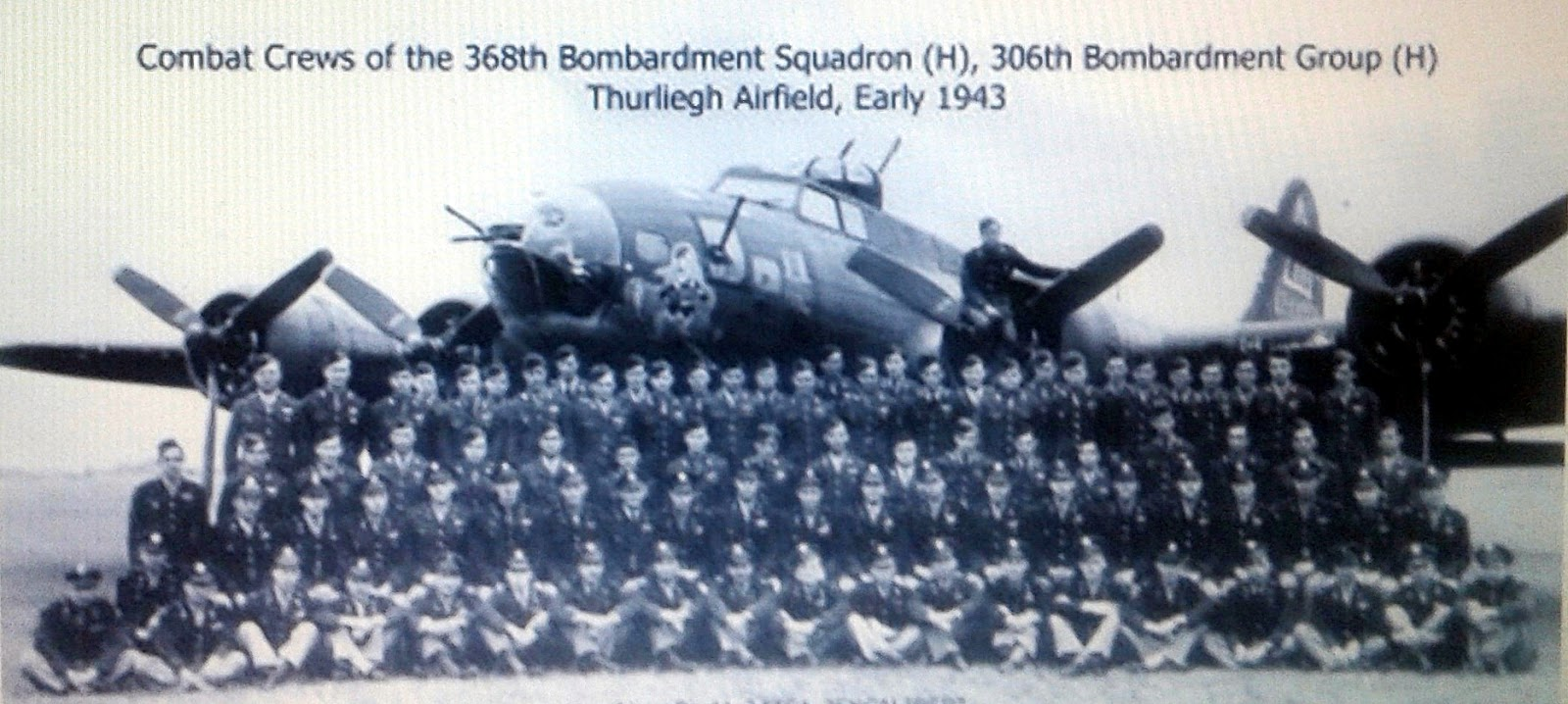 833rd aero squadron - Early 1943 Group Photo So Wife S Uncle Roland Is Likely In There Somewhere