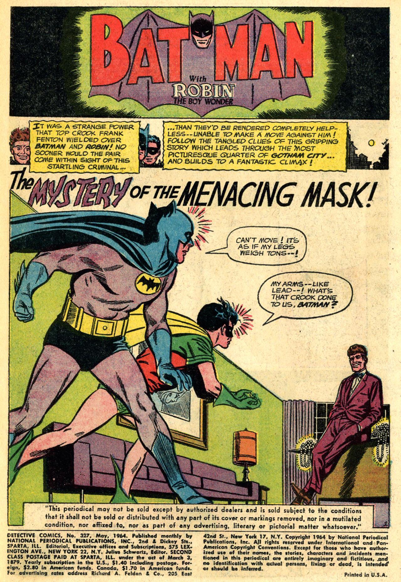 Detective Comics (1937) 327 Page 2