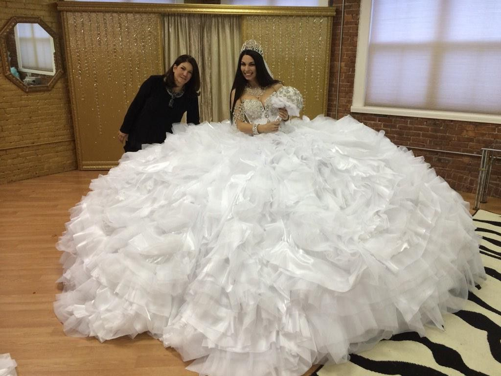 Trashy Wedding Dresses. People Who Define White Trash ...
