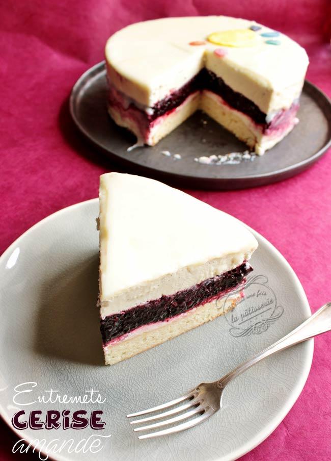 dessert cerise amande recette