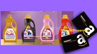 Logo Woolite: gioca e vinci 100 buoni Amazon da 50€
