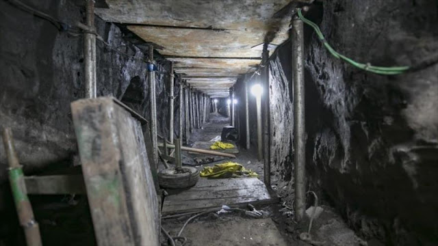 Hallan en Brasil túnel listo para robar $330 millones de un banco