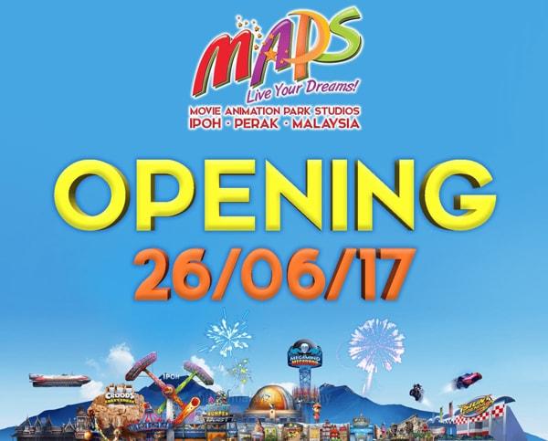 Opening of Movie Animation Park Studios Perak